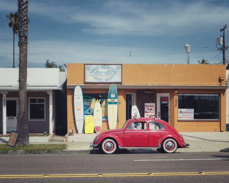 Vintage era in the extravagant stores of Los Angeles